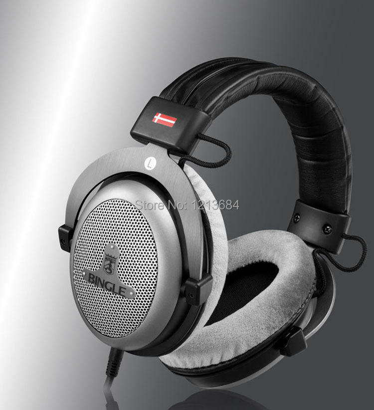 Bingle B910 B910-M Noise Cancelling Deep Bass Over Ear Stereo HIFI DJ HD Studio Music 3.5mm 6.3mm Wired Earphones Headphones