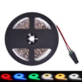 LED Strip Light Waterproof IP65 DC12V 5m 300LEDs SMD5050 Flexible Light Single Color Warm White Red Green Blue Yellow White