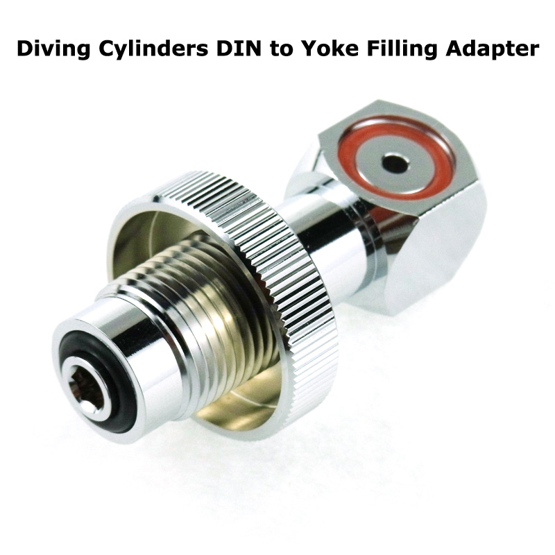 Scuba Diving Tank Valve Regulator DIN To Yoke Convertor Adaptor Spare Parts