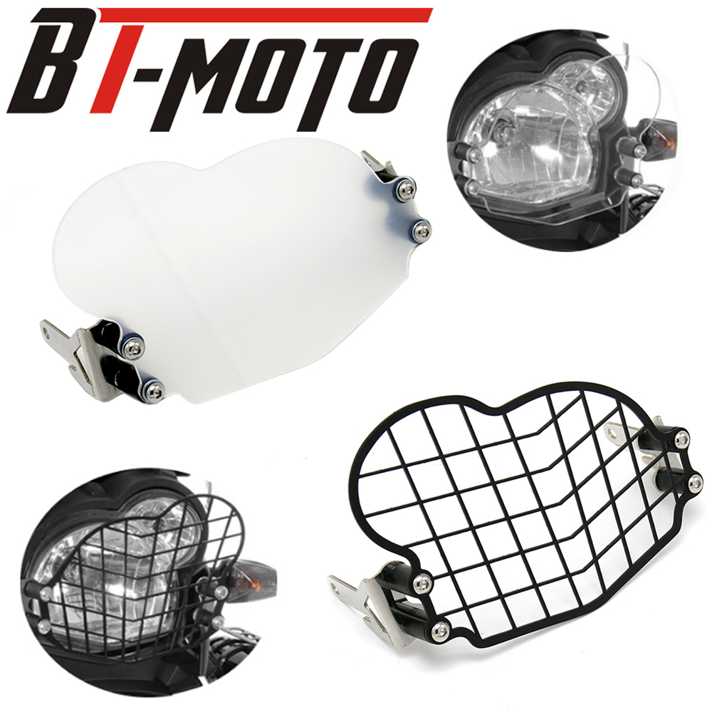 G650GS Acrylic/ Grille Headlight Protector Head Light Guard Front Lamp Cover for <font><b>BMW</b></font> <font><b>G</b></font> <font><b>650</b></font> GS 2011 2012 2013 2014 2015 2016 2017 image