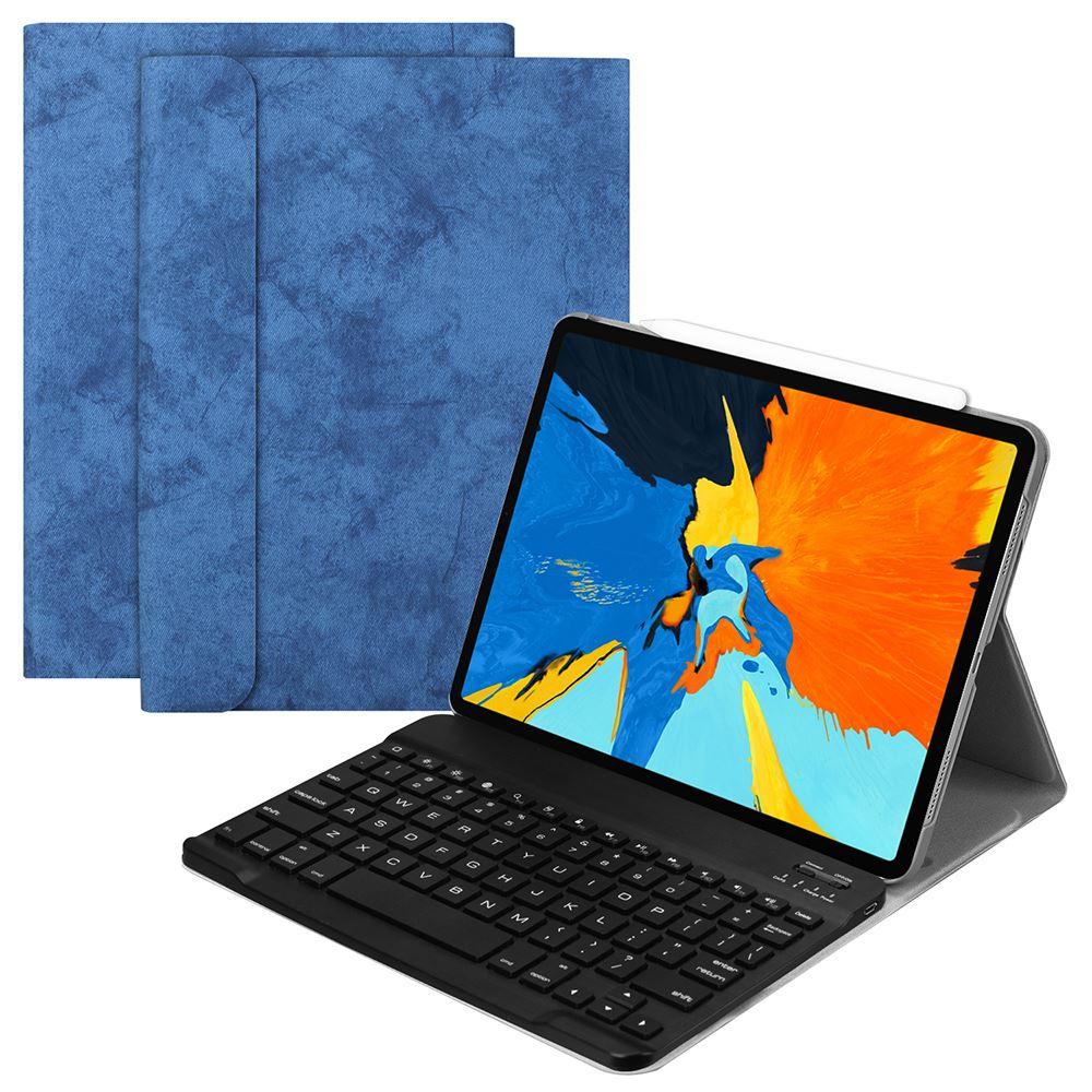 """שליכט אקרילי עבור אפל iPad Pro 11 2018 עור בארה""""ב Bluetooth מופרדים מקלדת Case Smart Sleep אלחוטי Tablet Cover (1)"""