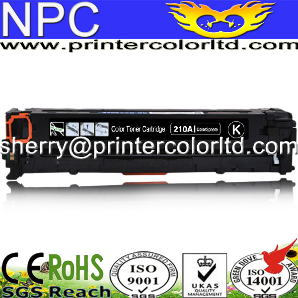 FREE DHL MAIL SHIPPING. For HP CF210A Toner Cartridge Compatible CF210A Toner compatible new laser printer OEM toner cartridge hp cf210a 11a 12a 13a cf210a