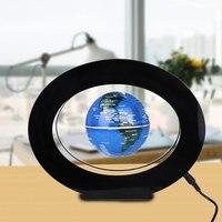 LED Light Magnetic Levitation Floating Globe English World Map Kid Gifts