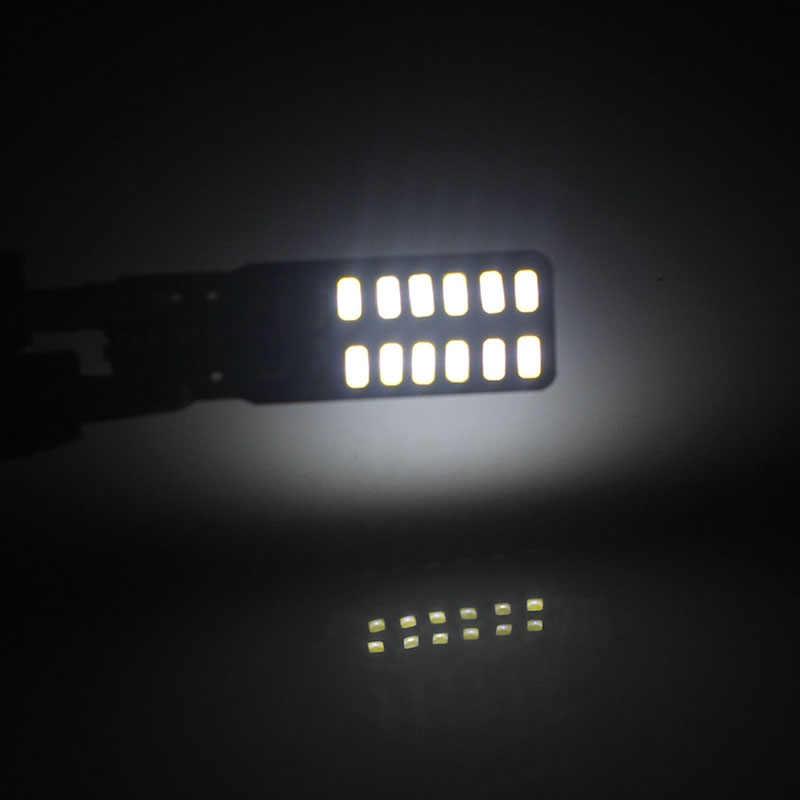 1 pcs Canbus T10 led W5W 195 3014 24 SMD רכב אוטומטי אור מקור הנורה גיבוי מנורת White-m30 6000 k לבן עבור פולקסווגן פולו פאסאט