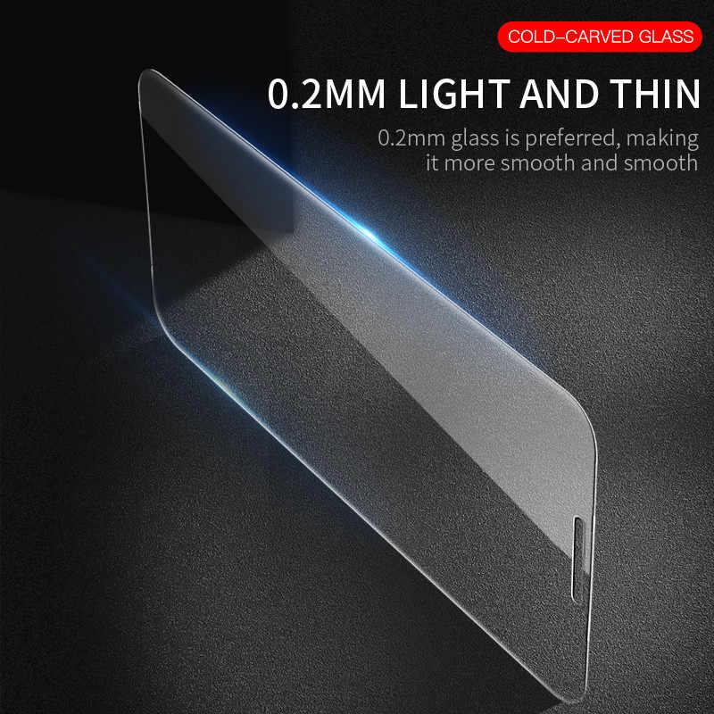2 Buah/Banyak Pelindung Layar Anti Gores untuk Xiaomi Pocophone F1 9 8 Se Mi9 Mi8 A3 A1 A2 Lite 6 5X MiA3 Mi9T Mi6X MiA1 MiA2 Mi6