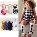 2016 bobo choses summer kids romper baby Boys Girls cotton nununu Jumpsuit suspenders bread pants Rompers