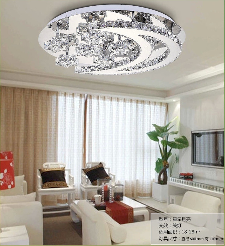 2014 Modern Design Lustre Crystal LED Ceiling Lights For