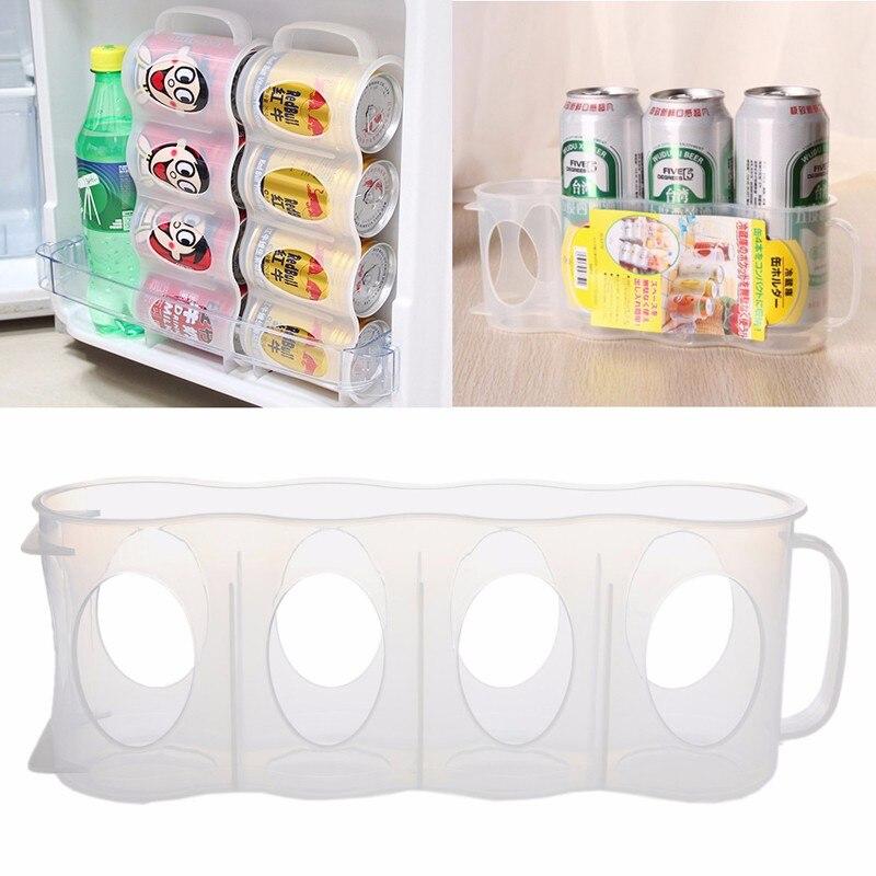 New Beer Soda Can Storage Holder Kitchen Fridge Organization Rack Plastic E Convenient China