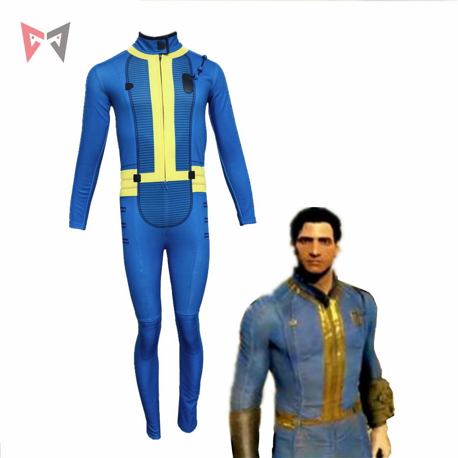MMGG Halloween Game Fallout 4 Cosplay Costumes  Knight cosplay Jumpsuits custom made size