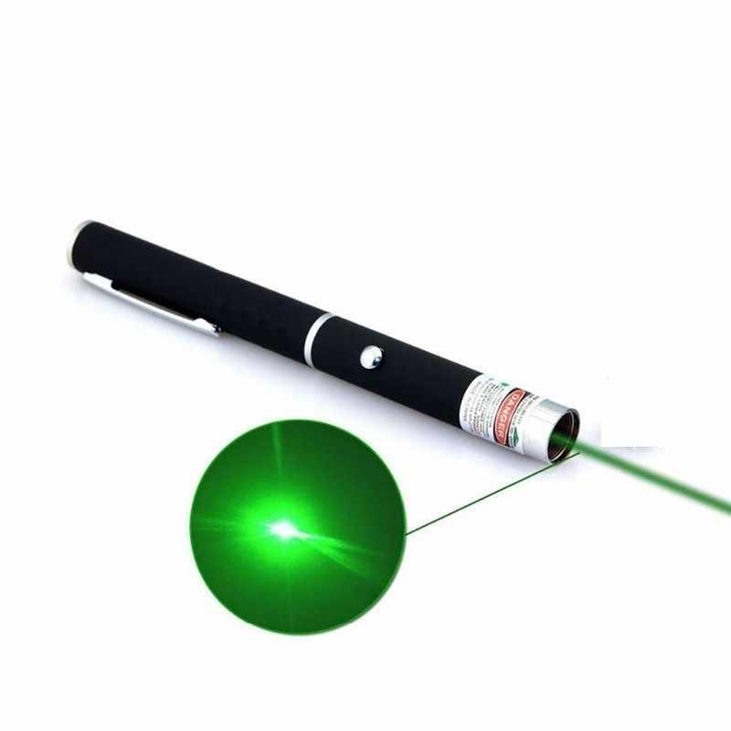 ירוק מצביע לייזר Sight גבוהה כוח ציד ירוק דוט טקטי 532nm 5 mW 303 מצביע לייזר ורדה לייזר עט ראש שריפת התאמה