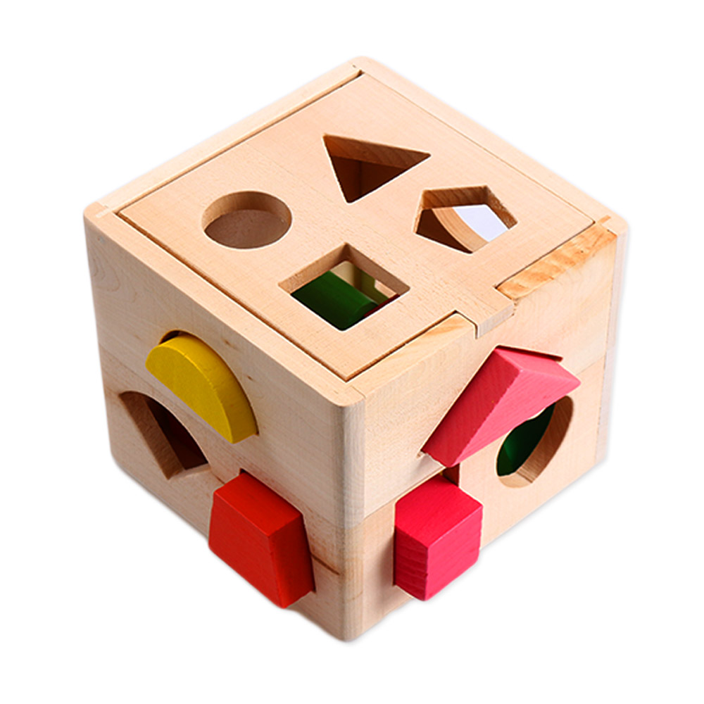 Creative Baby Children Wooden Toy House Intellectual ...