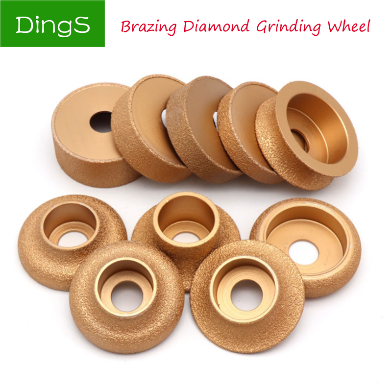 1 Brazed Diamond Grinding Wheel For Angle Grinder Electromechanical Cutting Glass Ceramic Stone