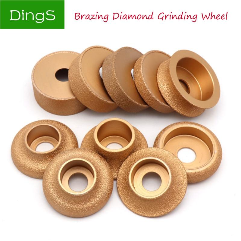 1 Brazed Diamond Grinding Wheel For Angle Grinder Electromechanical Cutting Glass Ceramic Stone