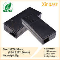 132*58*32mm (5.20*2.28*1.26 cal) darmowa wysyłka wysokiej jakości obudowy elektroniczne plastikowe pudełko elektronicznych tworzyw sztucznych Hibox pudełko