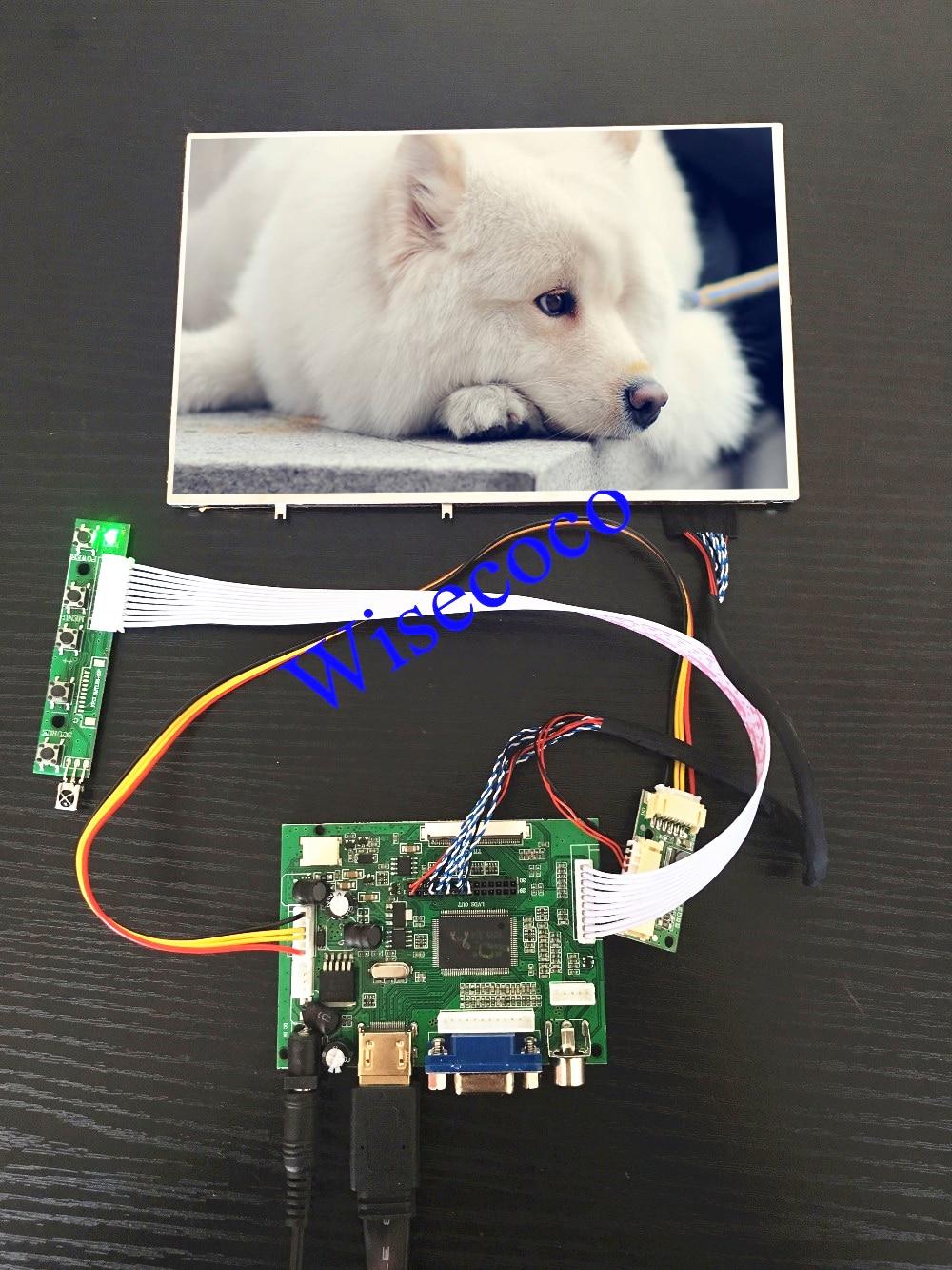 8.2 pouce 1280*800 IPS LCD Moniteur D'affichage DIY Kit Raspberry Pi 3 2 1 HDMI VGA AV LVDS 40 pins