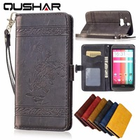 Top Quality Pu Leather Flip Case For HTC One M8 Mobile Phone Bag Wallet Stand With