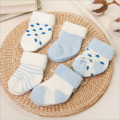 Hot Sale Unisex Print 5 Pairs Newborns Baby Socks Winter Cotton 0-2 Years Infant Anti-slip Toddle Girl Boy Short Socks