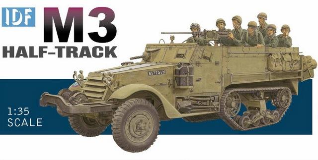 DRAGÃO 3569 1/35 IDF M3 Meia-Track