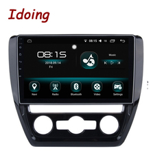 Idoing 10,2 «4G + 32G 8 Core автомобильный Android 8,0 Радио Аудио мультимедийный плеер Fit VW Jetta 2011-2015 2.5D ips экран gps навигация