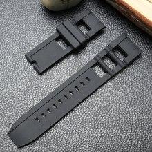 77b48df6570 Atacado Pulseira de Silicone Preta especial Para homens Invicta relógio de  Alta qualidade relógio de Pulso pulseira Banda Correi.