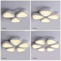 LED 천장 조명 거실 램프 직사각형 크리스탈 램프 침실 램프