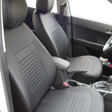 Для Lifan X60 2014-2019 специальные чехлы на сиденья полный набор модель Турин из эко-кожи
