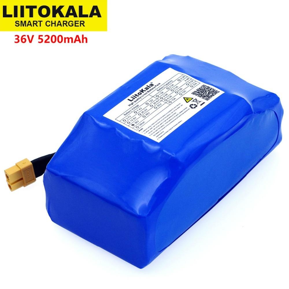Bateria de Lítio para Auto-balanceamento Alta Dreno 2 Roda Scooter Elétrico Auto Balanceamento se Encaixa 6.5 7 36 v 5.2ah 5200 Mah