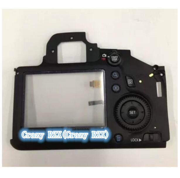Repair Parts For Canon for EOS 6D Back Cover Rear Shell Assy With LCD External Screen Protection Board Menu Button Cable New free shipping test ok d750 back cover with lcd display screen back case with menu button flex cable fpc for nikon