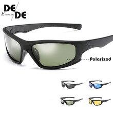 цены на New Polarized SunglasseS Men UV400 Anti-glare Sun Glasses Black PC Frame Outdoor Sport Goggles  в интернет-магазинах
