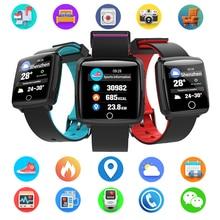 BL89 Color Screen Smart Bracelet Sport Bluetooth 4.0 Blood Pressure Monitor Smart Watch Waterproof For Men Male Sports Smartband все цены