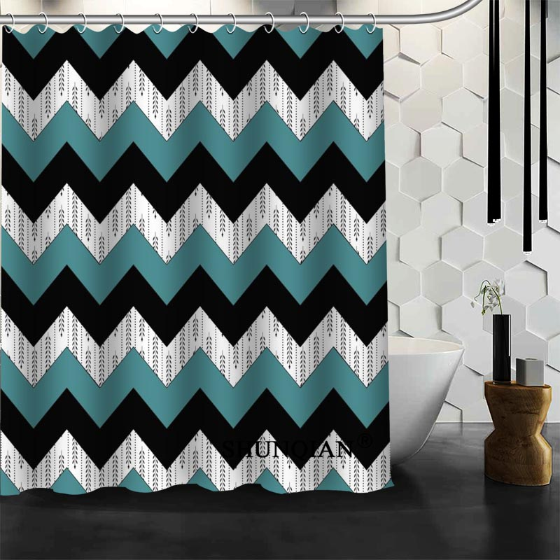 chevron pattern curtains