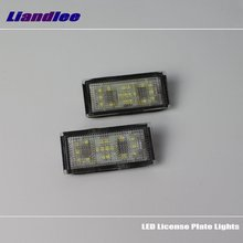 Liandlee LED Car License Plate Light For BMW 7 Series E66 (NO FOR JAPAN CAR) / Number Frame Lamp Lights