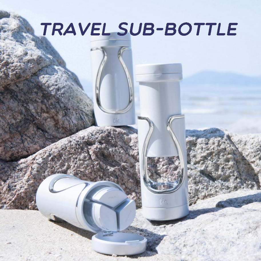 TIC Travel Sub Bottle Skin Lotion Care Bath Products Face Cream Box Perfume Spray Bottle Portable