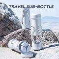 TIC Reise Sub-Flasche Haut Lotion Pflege Bad Produkte Gesicht Creme Box Parfüm Spray Flasche Tragbare Leere Flasche Bord die Plan