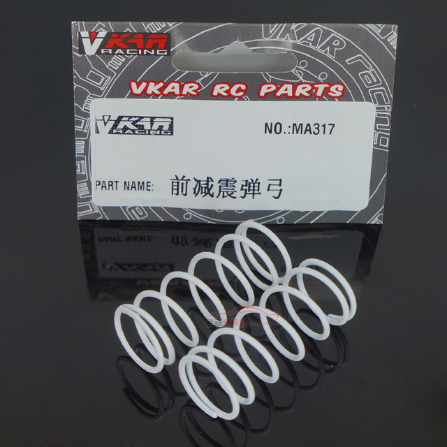 2PCS VKAR RC Parts high quality short card frame accessories MA317 front  shock shock catapult free shipping-in Parts & Accessories from Toys &  Hobbies