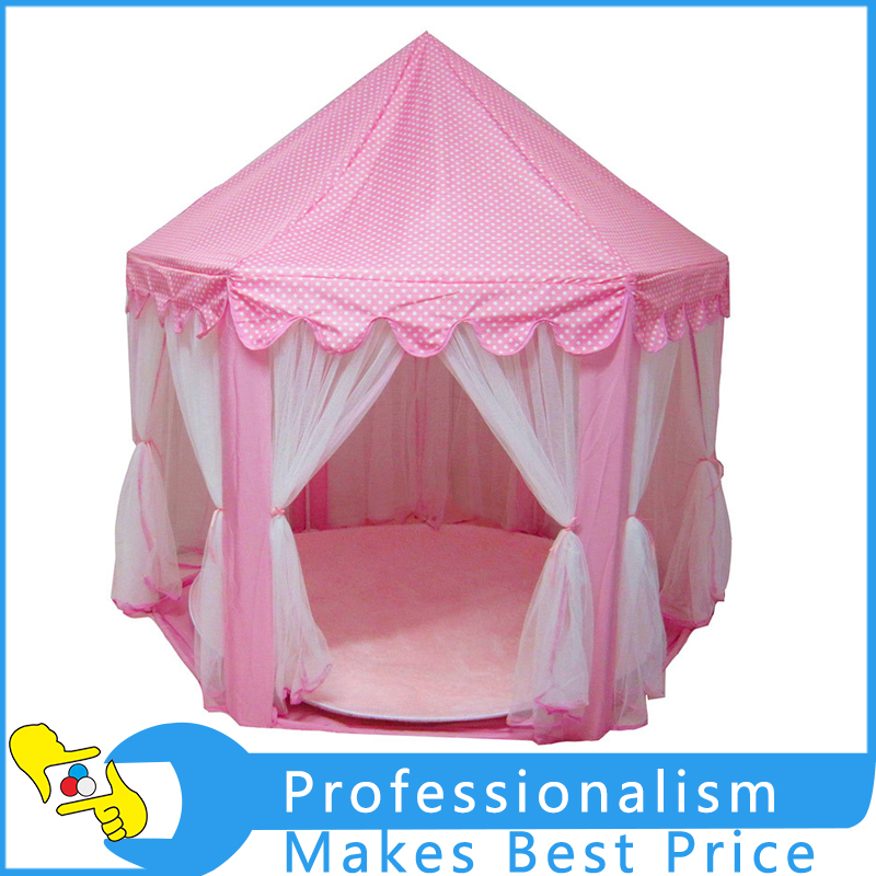 Tent Portable Foldable Princess Folding Tent Children Castle Play House Kids Gifts Outdoor Toy Tents eco friendly kids folding house tent canvas tent toy tents