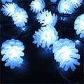 5 M/6 M/7 M/12 M/22 M Pinheiro Cone Movido A Energia Solar Fada Cordas luzes 20/30/50/100/200 LED Festival Festa de Natal Decoração Ao Ar Livre