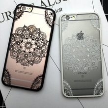 Floral Sexy Lace Mandala Case For iPhone 7 6 6S Plus