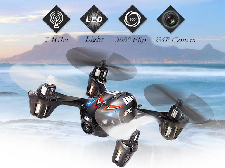 Original JJRC H6C 6-Axis 4CH RC Quadcopter with 2MP Camera 2.4GHz Remote Control Toys Children's Toys in stock original jjrc h8c 4ch rc quadcopter with 2mp camera 2 4ghz with more batteries free shipping