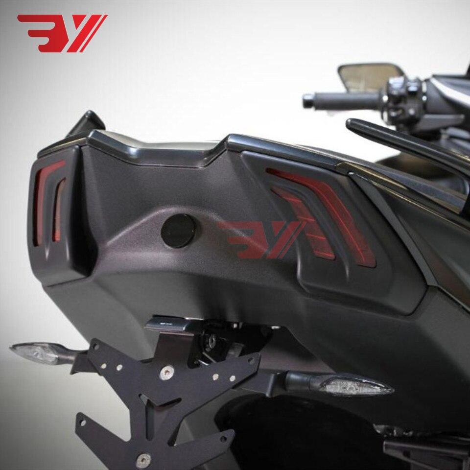 BYSPRINT Moto T-MAX 530 Avant Arrière feu arrière Tour témoin lumineux Couverture 2017 2018 2019 Pour Yamaha TMAX530 T MAX 530 17 -19 - 5