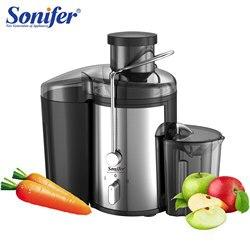 220V Edelstahl Entsafter 2 Geschwindigkeit Elektrische Entsafter Obst Trinken Maschine für Home Sonifer