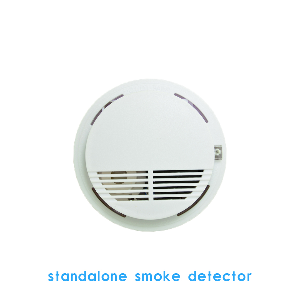 Hot selling Indoor Security Home Fire Alarm Sensor Smoke Detector Ceiling Standalone without battery use in House factory