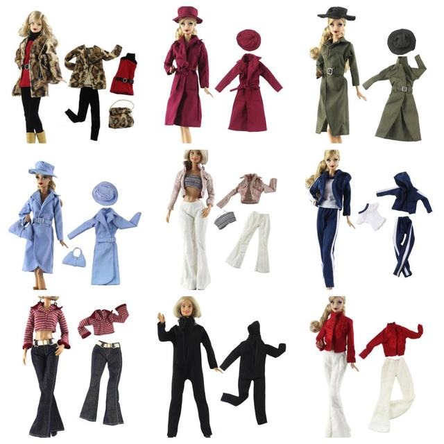 442c1c73d6 US $0.01 16% OFF|15 Styles Elegant Blouse Casual Wear Girls Suit Trousers  Clothes Accessories For For Doll Girls'Gift Doll Party Clothes-in Dolls ...