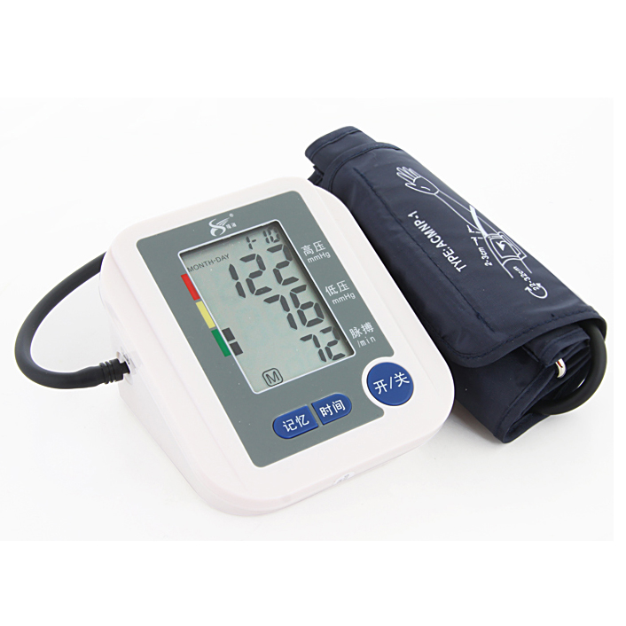 Digital Upper Arm Blood Pressure Pulse Monitor Full automatic   Blood Pressure Monitor Meters Sphygmomanometer Health care Monit