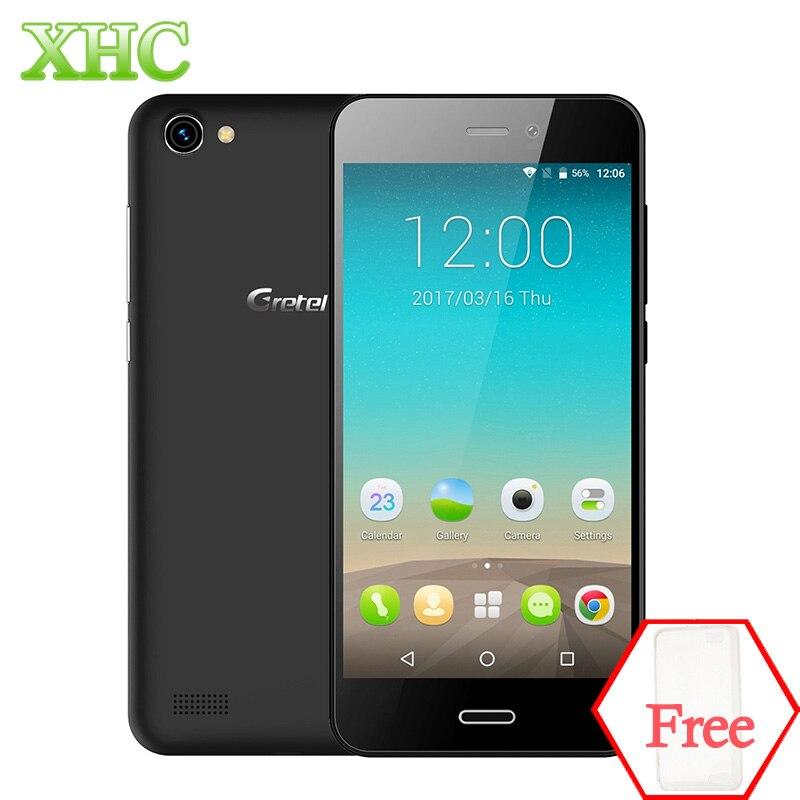 Gretel A7 4.7 ''Teléfono Móvil MTK6580 Quad A Core Android 6.0 1 GB RAM 16 GB RO
