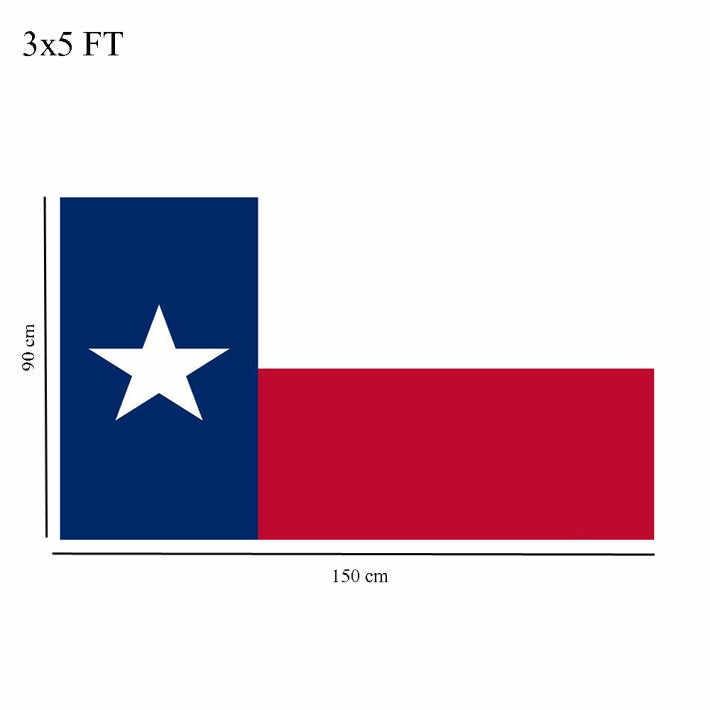 Pied 3x5 pieds de luxe brodé Texas | En Nylon américain TX, des étoiles simples, drapeau des états-unis, livraison directe Sep18