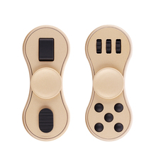 Multifunction Fidget Cube Hand Spinner Torqbar Brass EDC Toys Finger Spinner Gyro Fidget Spinners Gyroscope Stress Relief Toy