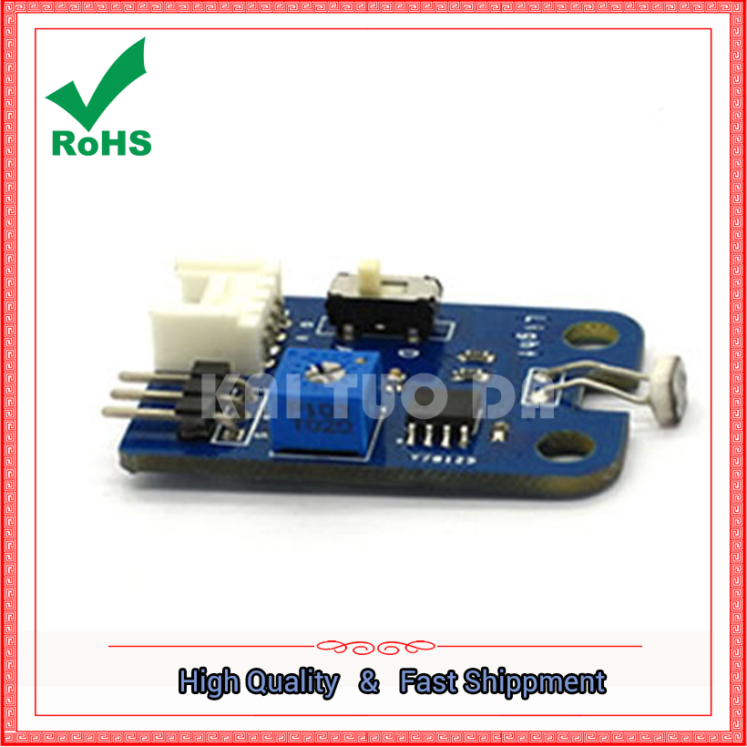 Photosensitive sensor photosensitive switch resistance module light detection 3p / 4p interface board