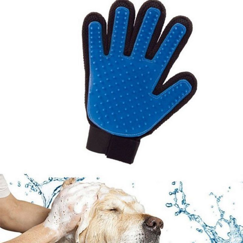 New Glove for combing cats Brush Glove True touch Pet Hair Clean Brush Comb Magic Glove Gentle Efficient Massage 05