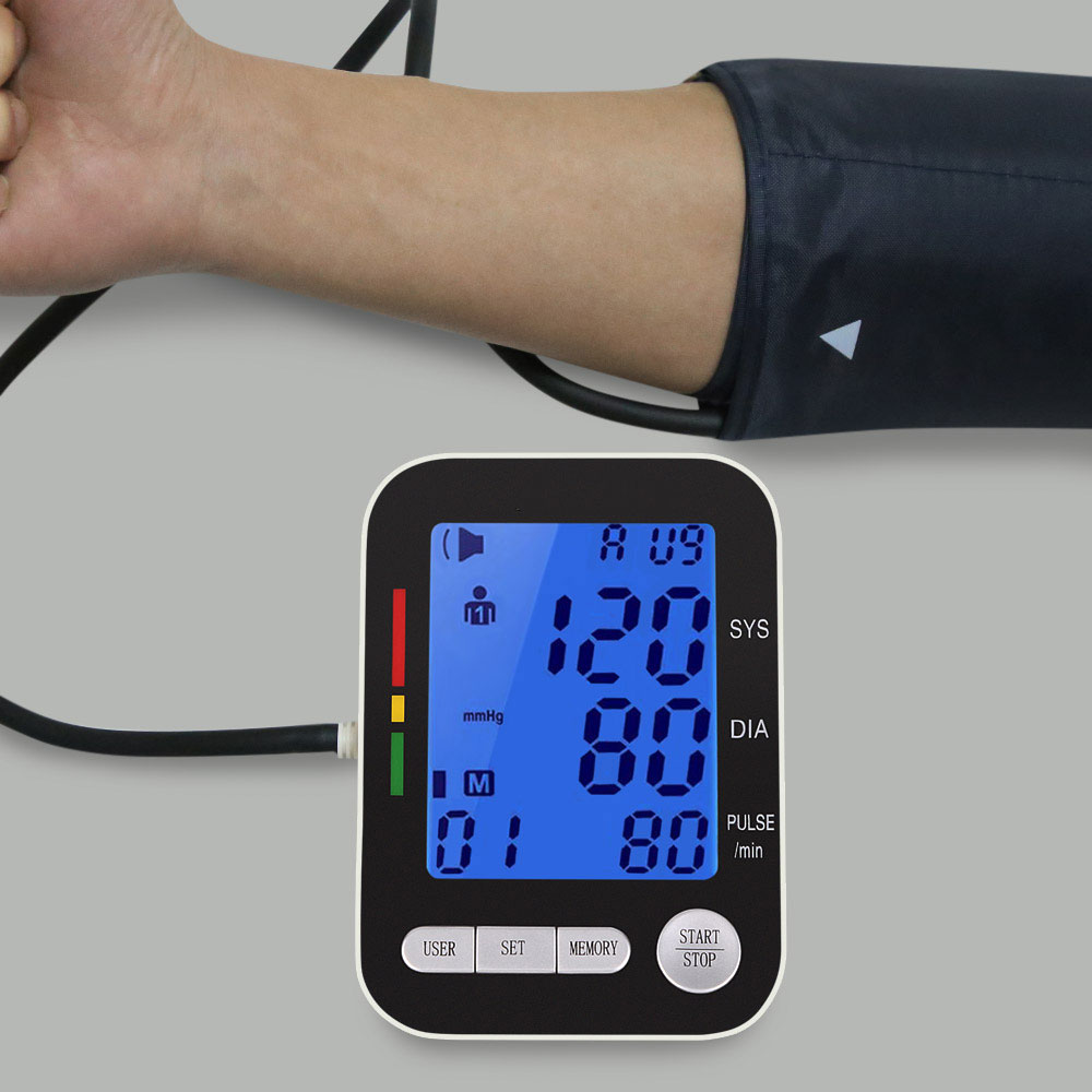Health Care Digital LCD Upper Arm Blood Pressure Monitor Heart Beat Meter Machine Health Care Household Health Blood Monitor кремы health